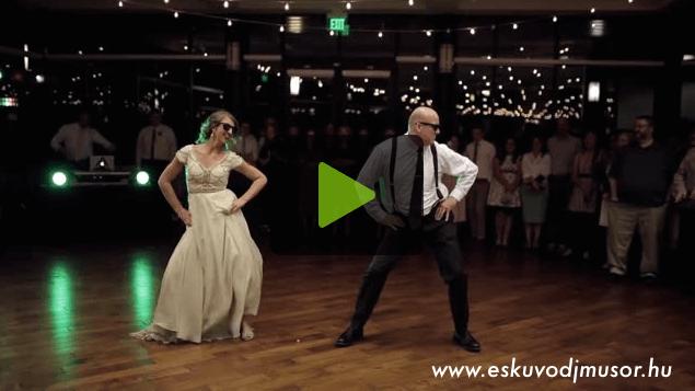 Apa felkéri a lányát az esküvőn és elindul az őrület …