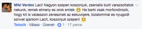 FB hozzaszolas