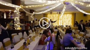 Dunaparti Esküvő Dj Műsor Krisztivel és Zalánnal