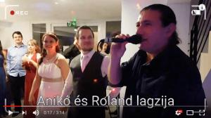 Hatalmas mulatozás Anikó és Roland esküvőjén